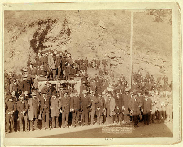 Wall Art - Photograph - Last Deadwood Coach. The Last Trip Of The Famous Stage Dec by Litz Collection
