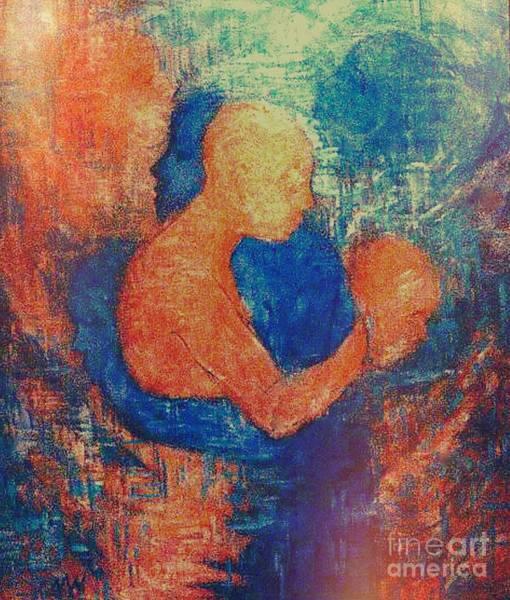 Painting - Last Embrace by Nancy Wait