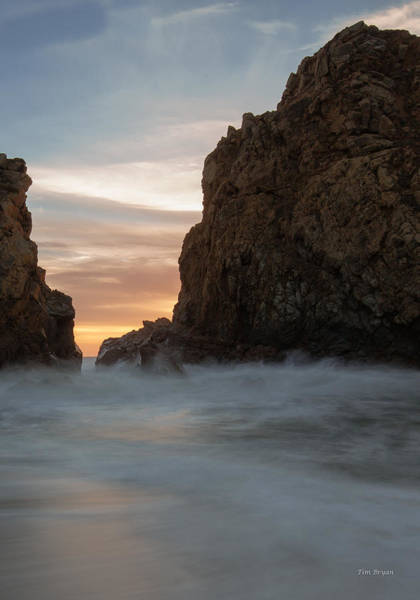 Wall Art - Photograph - Last Light At Big Sur by Tim Bryan