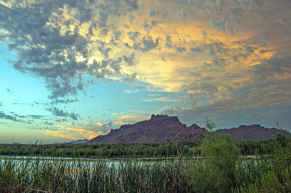 Photograph - Last Light At Red Mountain by Tam Ryan