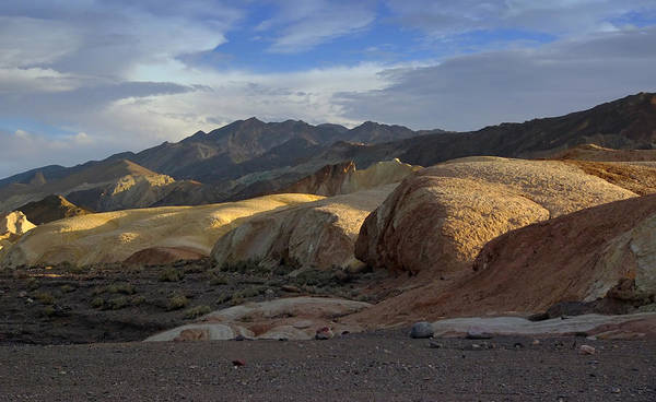 Photograph - Last Light In Death Valley by Frank Lee Hawkins Eastern Sierra Gallery