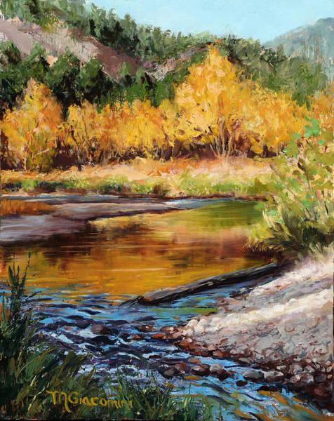 Painting - Last Light by Mary Giacomini