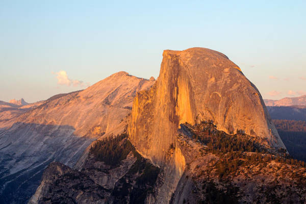 Photograph - Last Light On Half Dome by Nicholas Blackwell