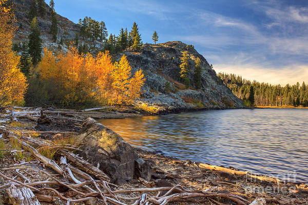Plumas County Photograph - Last Light On Taylor Lake by James Eddy