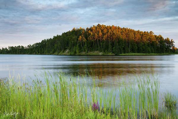 Madawaska Lake Photograph - Last Light On The Lake by Phill Doherty