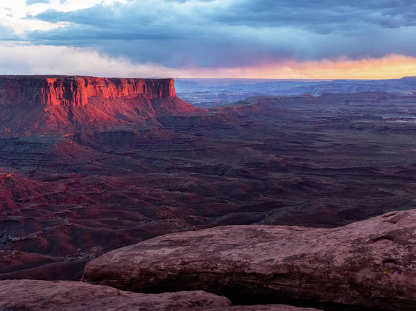 Southwest Usa Photograph - Last Light On The Mesa , Canyonlands by Kencanning