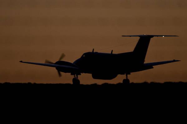 Kimberley Airport Photograph - Last Light by Paul Job
