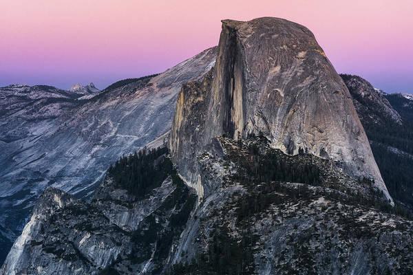 Half Dome Photograph - Last Light by Robert Fawcett