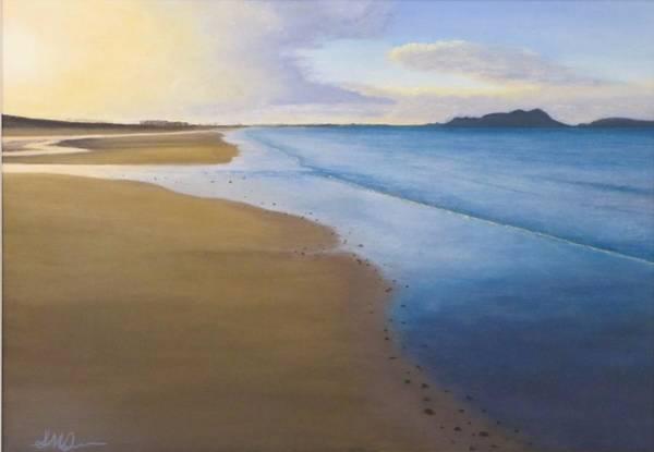 Pastel - Last Light Uretiti Beach by Serena Dawson
