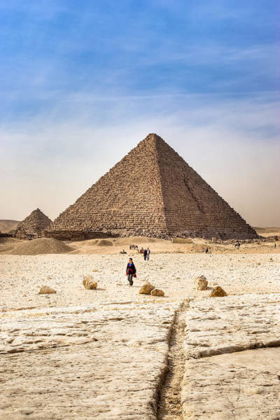 Photograph - Last Of The Great Pyramids In Egypt by Mark Tisdale