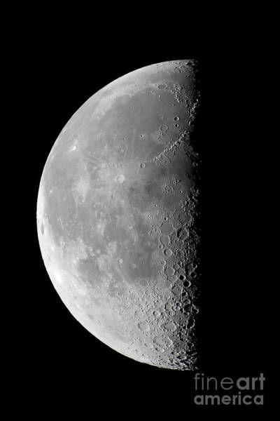 Perigee Moon Photograph - Last Quarter Waning Moon by Alan Dyer