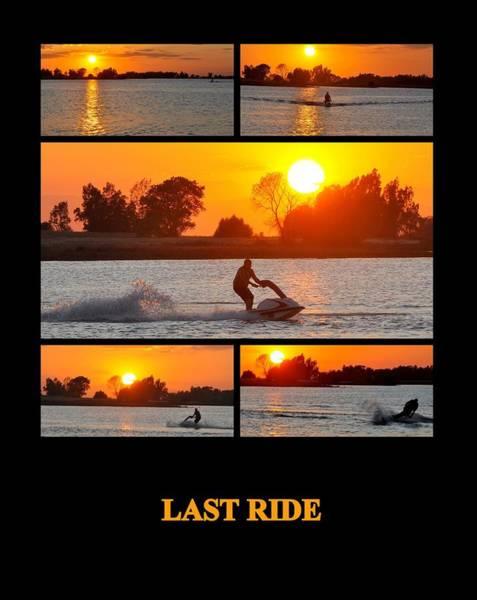 Photograph - Last Ride by AJ  Schibig