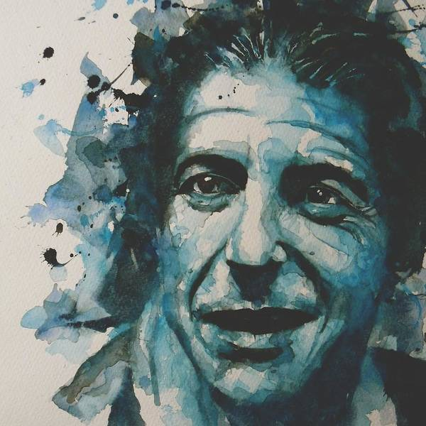 Vocalist Wall Art - Painting - Last Year's Man by Paul Lovering