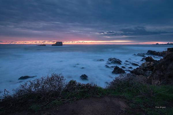 Photograph - Lasting Impression.... San Simeon by Tim Bryan