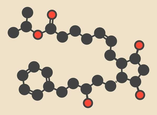 Compound Eyes Photograph - Latanaprost Glaucoma Drug Molecule by Molekuul