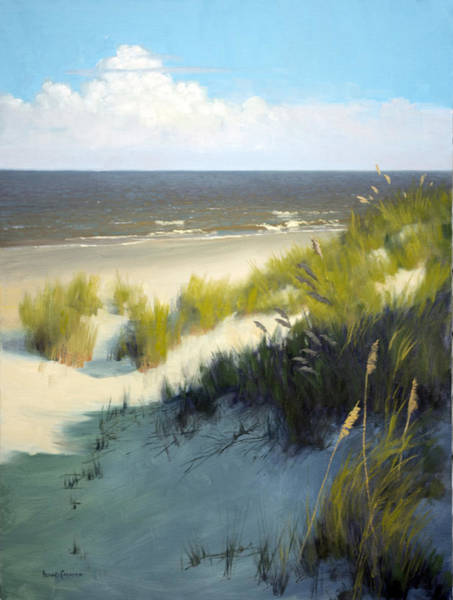 Sand Dune Painting - Late Afternoon by Armand Cabrera