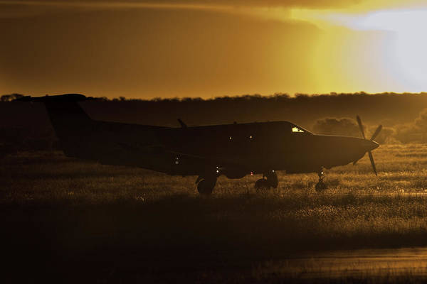 Kimberley Airport Photograph - Late Afternoon Mercy  by Paul Job
