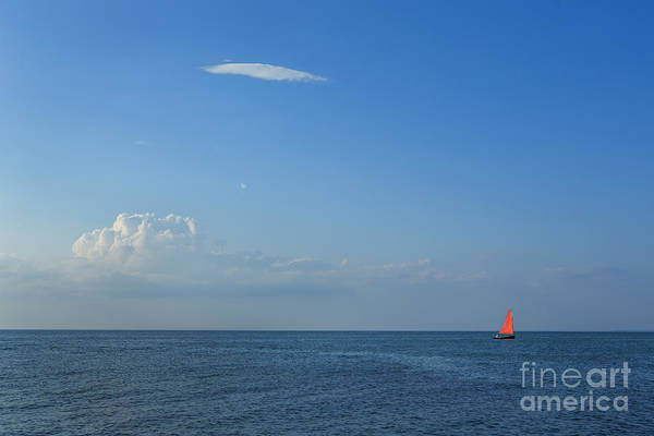 Wall Art - Photograph - Late Afternoon Sail by Diane Diederich