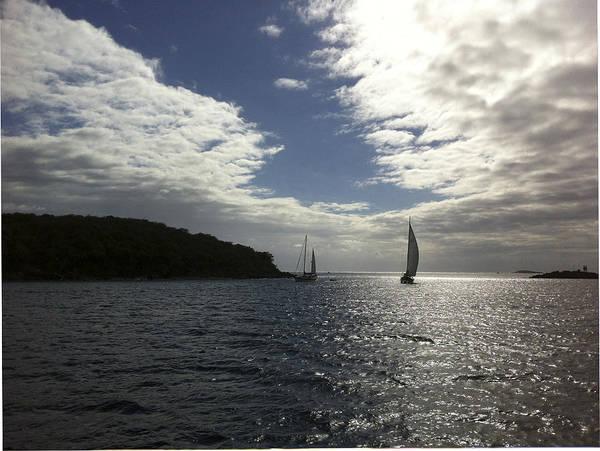 Photograph - Late Afternoon Sail by Karen Zuk Rosenblatt