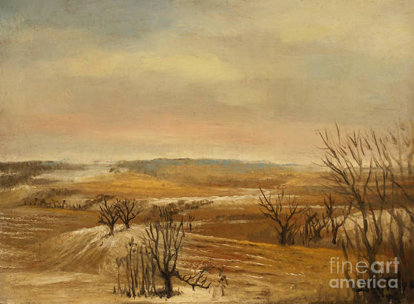 Painting - Late Fall In The Midwest by Art By Tolpo Collection