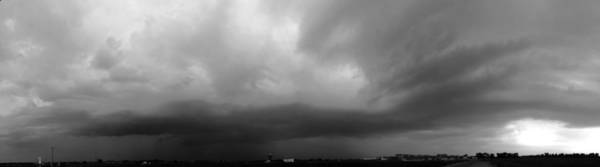 Photograph - Late Morning Severe Warned Nebraska Cel by NebraskaSC