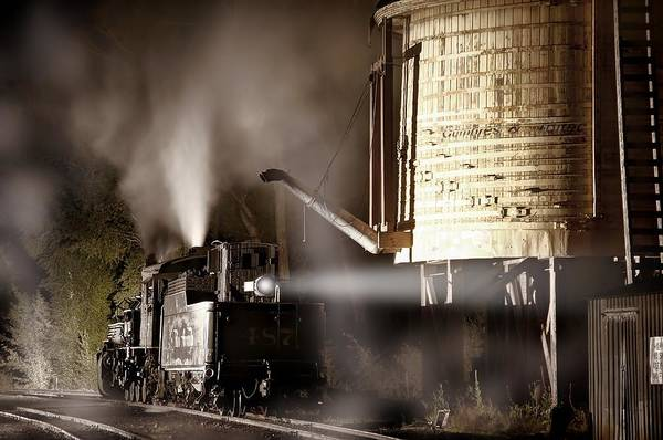 K-36 Photograph - Late Night Cap At The Chama Water Tower by Ken Smith