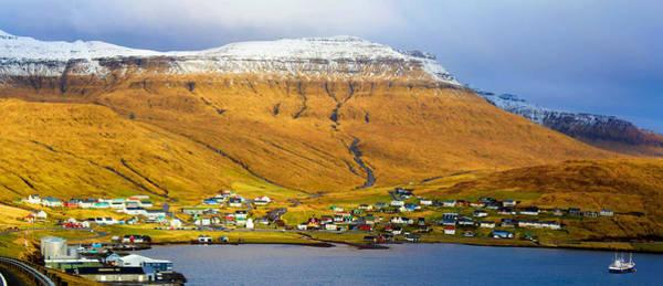 Late Spring In Faroe Islands Panorama Art Print