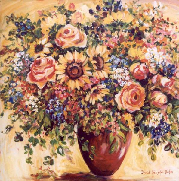 Late Summer Bouquet Art Print