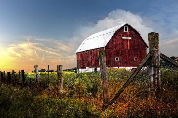 Wi Photograph - Late Summer by Debra and Dave Vanderlaan