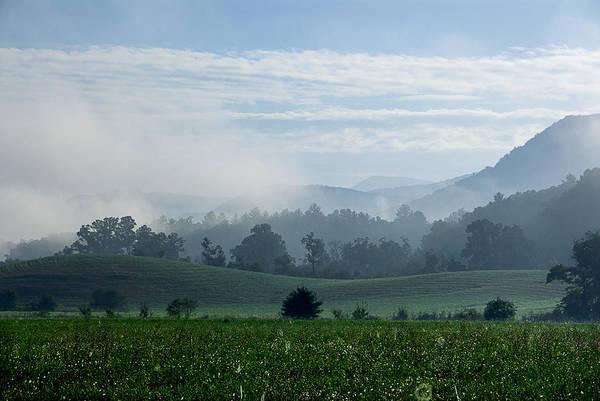 Photograph - Late Summer Fog by Carol Erikson