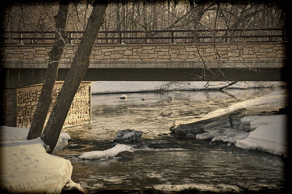 Wall Art - Photograph - Late Winter At Brainard's Bridge by Thomas Young