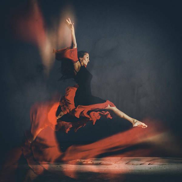 Dance Photograph - Latin Dancer by Stelios Kleanthous