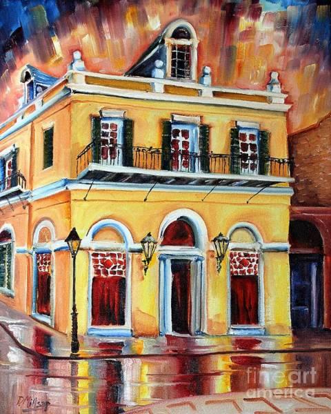 Wall Art - Painting - Latrobe Building On Royal Street by Diane Millsap