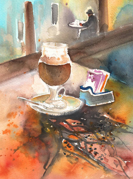 Painting - Latte Macchiato In Italy 02 by Miki De Goodaboom