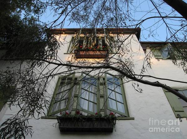 Photograph - L'auberge Facade by James B Toy