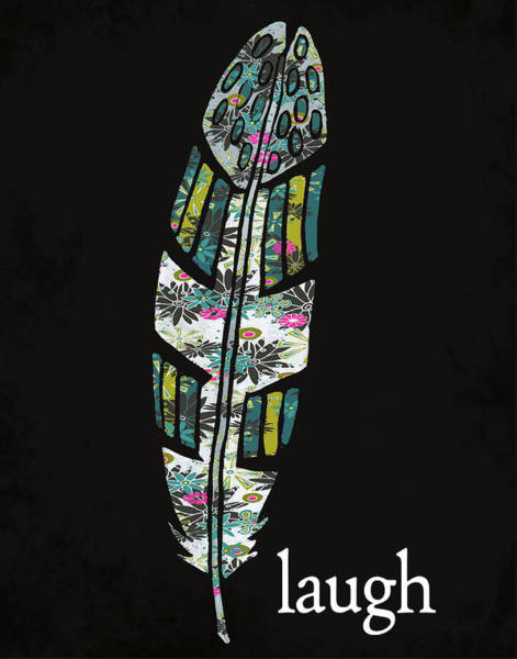 Wall Art - Painting - Laugh by Shanni Welsh