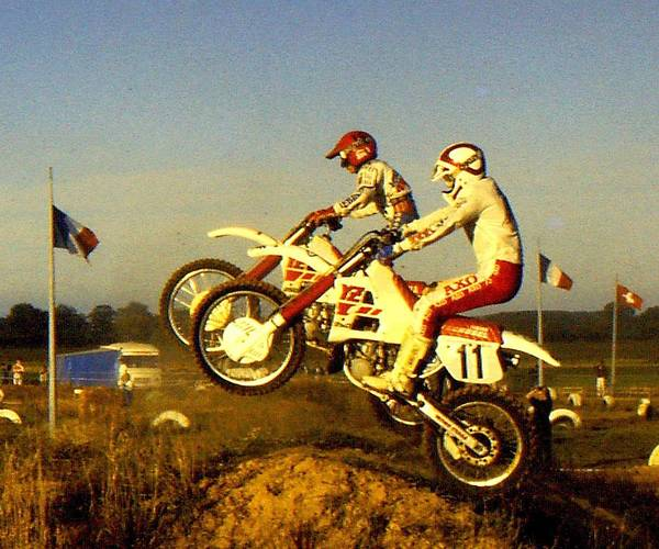 Dirtbike Photograph - Launch by Guy Pettingell