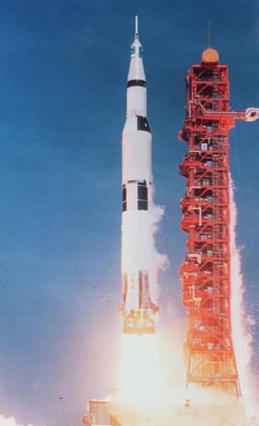 Wall Art - Photograph - Launch Of Apollo 11 by Nasa/science Photo Library