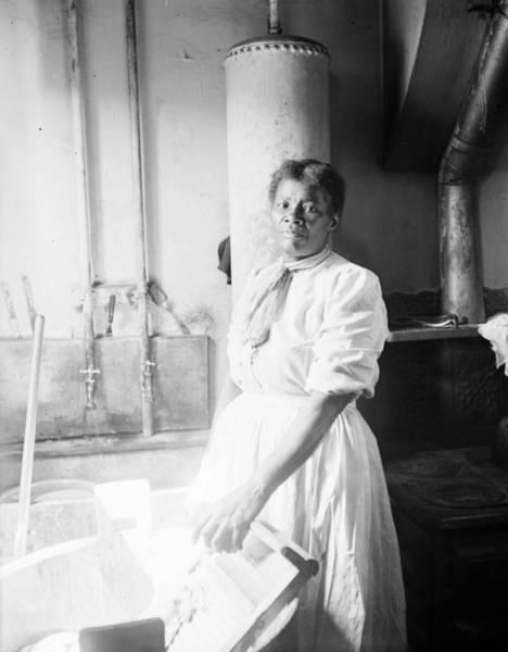 Photograph - Laundress, C1918 by Granger