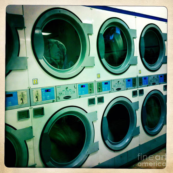 Dirty Laundry Photograph - Laundromat by Nina Prommer