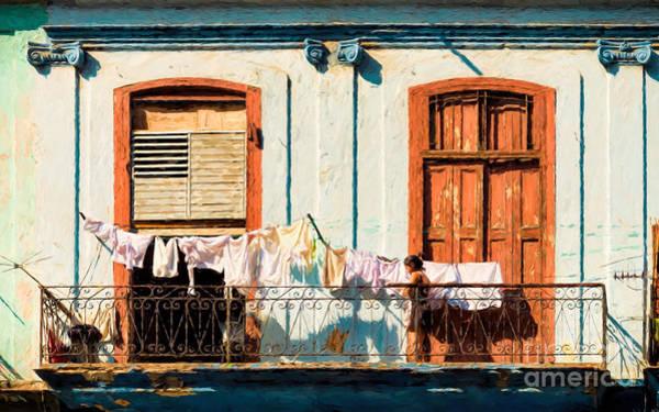 Photograph - Laundry Day by Les Palenik