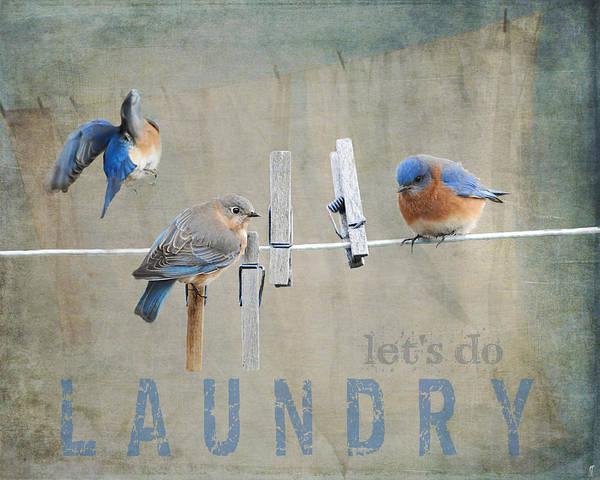 Laundry Day - Lets Do Laundry Art Print