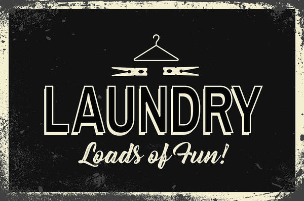 Wall Art - Painting - Laundry by Nd Art & Design