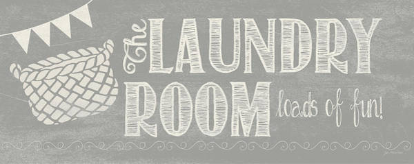 Wall Art - Painting - Laundry Room II by Jo Moulton