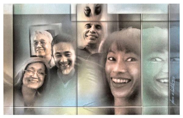 Mixed Media - Laureano Family - 2013 by Glenn Bautista