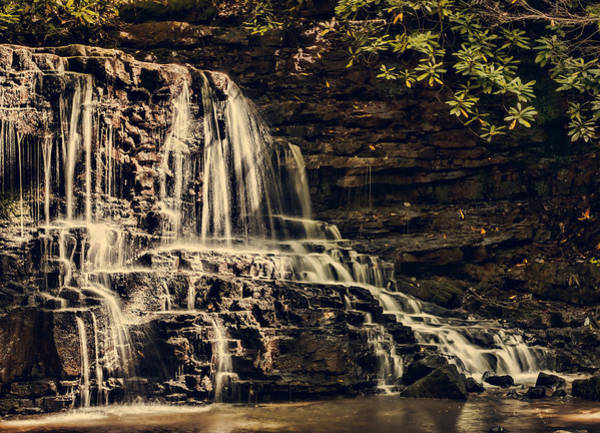 Photograph - Laurel Run Falls by Heather Applegate