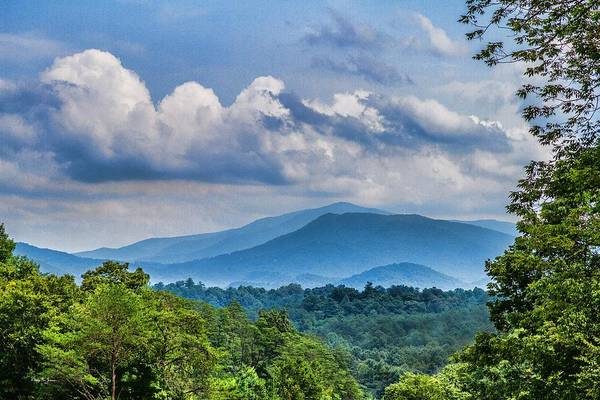 Photograph - Mountain - Landscape - Laurel Valley Scenic Vista by Barry Jones