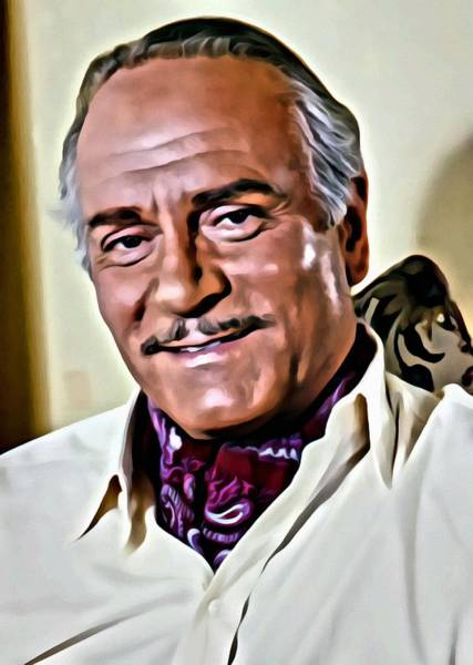 Painting - Laurence Olivier by Florian Rodarte