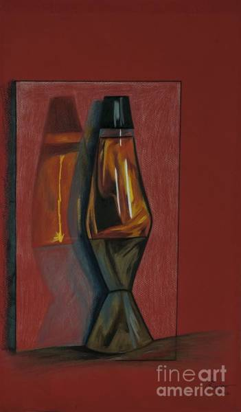 Drawing - Lava Lamp by Jon Kittleson