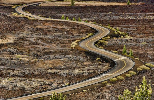 Photograph - Lava Road by Britt Runyon